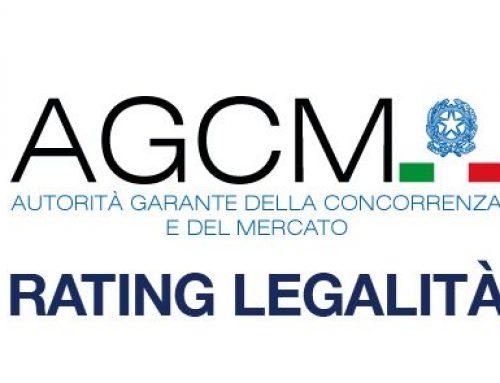 Massima valutazione per il Rating di legalità