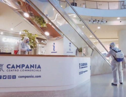 Sanificazione del Centro Commerciale Campania