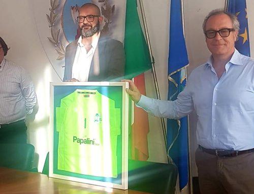 Papalini Spa main sponsor Volley Game Falconara