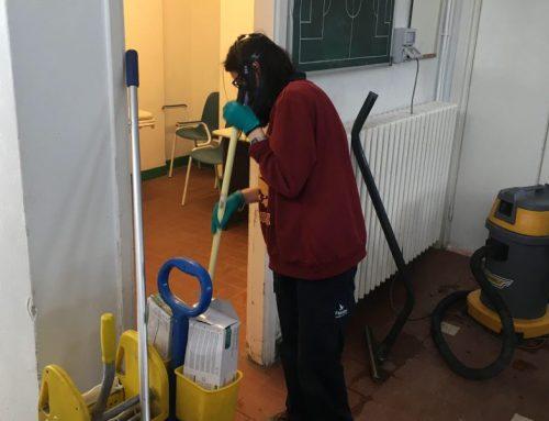 Igienizzazione presso Alma Juventus Fano