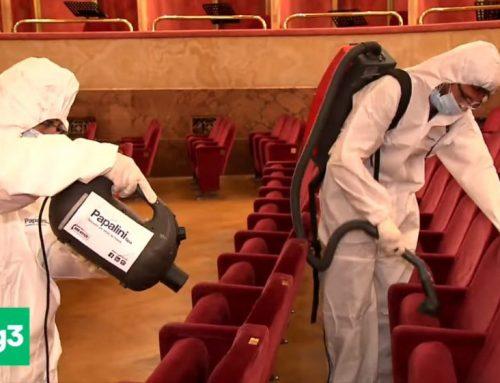 Sanificazione del Teatro dell'Opera di Roma